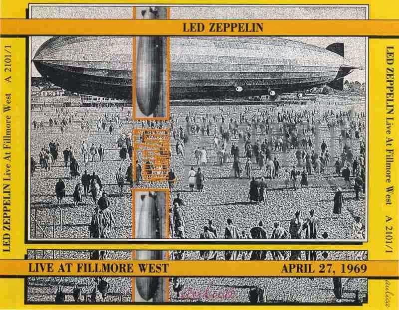 Rock Anthology: Led Zeppelin - Live At Fillmore West 1969 ...
