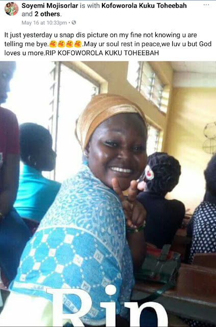 300L female student crushed to death by truck after falling off Okada on the way to school in Ogun State