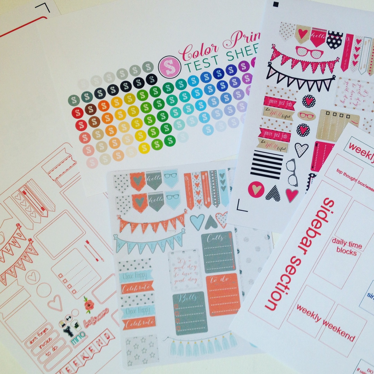 It is a photo of Silhouette Printable Sticker Paper throughout self adhesive