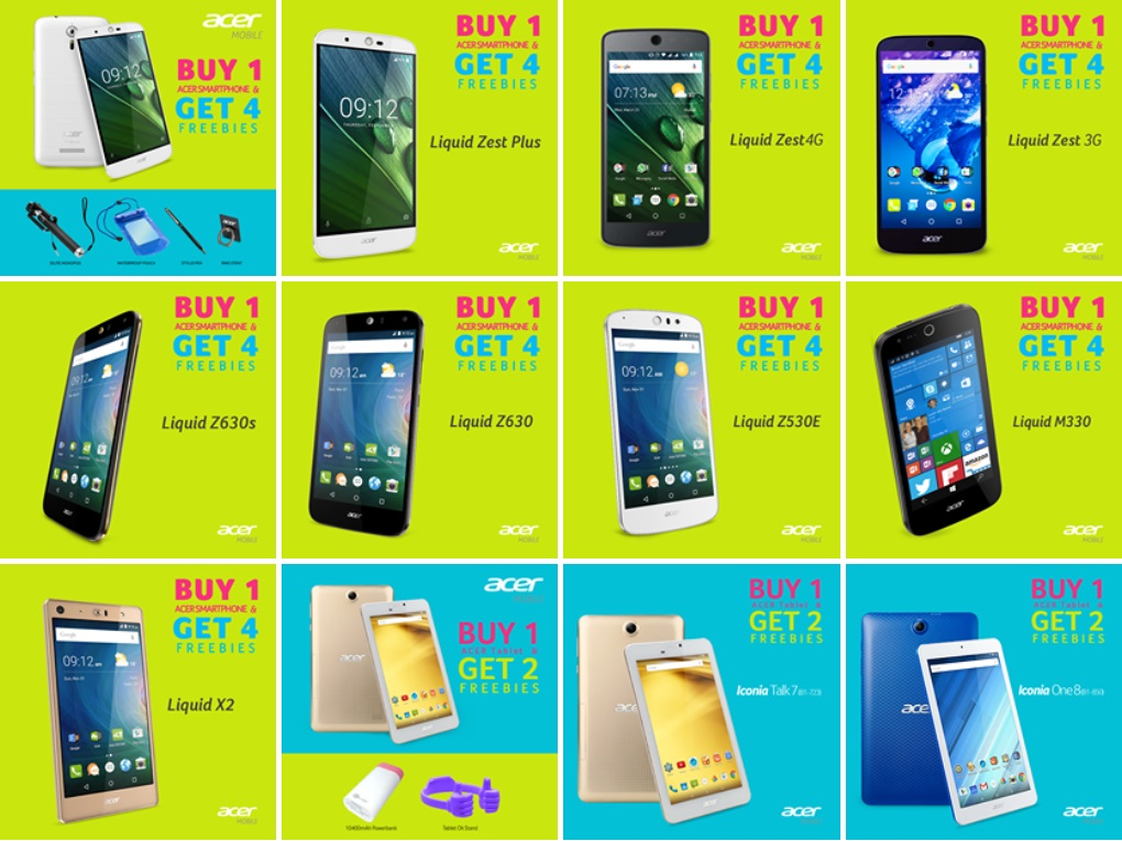 9df42091bc2 Acer Announces Buy 1 Get More Promo  Get Up To 4 Freebies In Select Acer