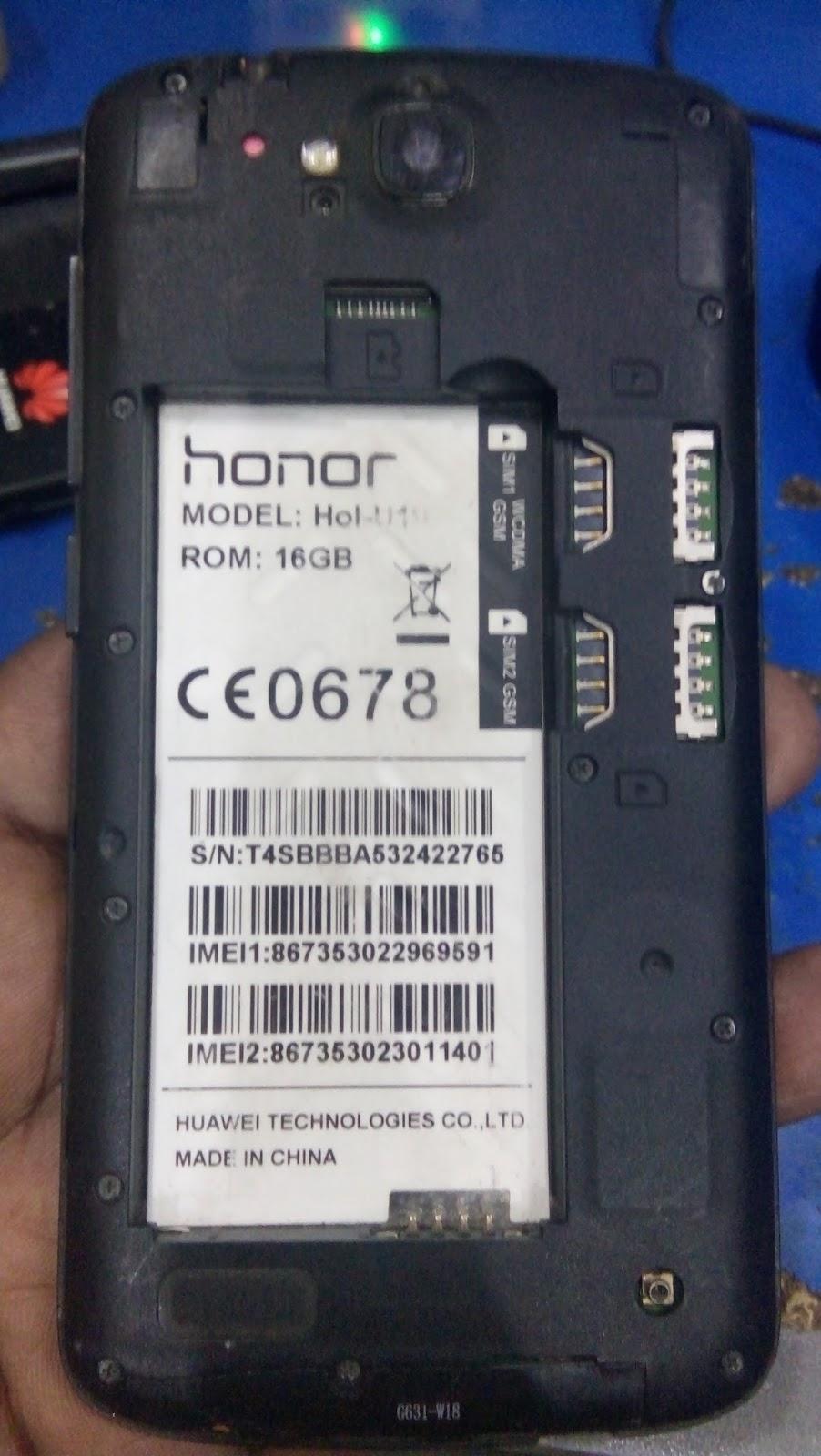 Mt6582  Huawei  Hol