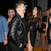 Robin Thicke's girlfriend stepped out in a very skimpy dress without underwear