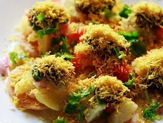 ramazan special chat pati sev puri recipe in urdu
