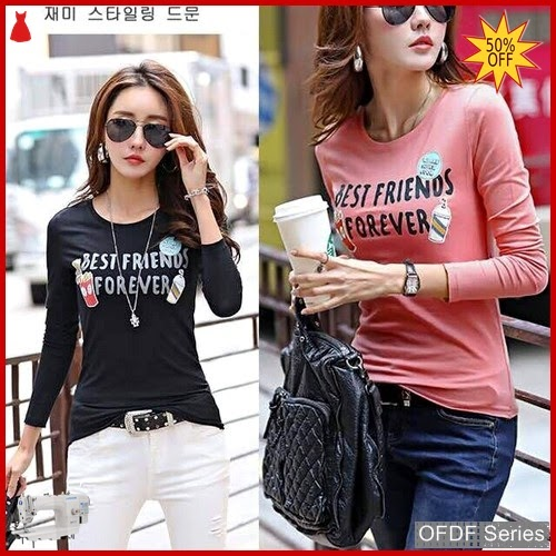 OFDF147 Atasan Blouse Best Friends Forever Modis BMGShop