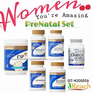 Vitamin Asas Yang Diperlukan Oleh Ibu Hamil , ESP , VITAMIN C , B-COMPLEX , VITALEA ,OMEGA , OSTERMATRIX