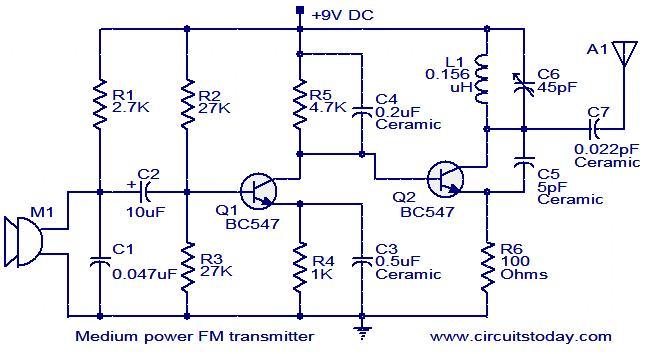fm transmitter project 32ittmax2606 diagram fm diapole antenna wiring diagram