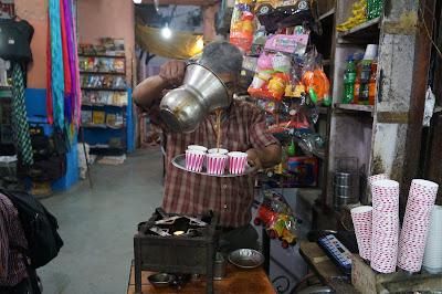 Selamat pagi, minum chai dulu di Jaipur