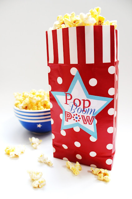 free 4th of july printables for popcorn