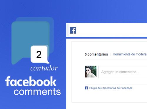 Añadir el contador de los comentarios de facebook en tu blog