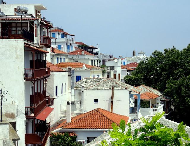 Skopelos Old Town