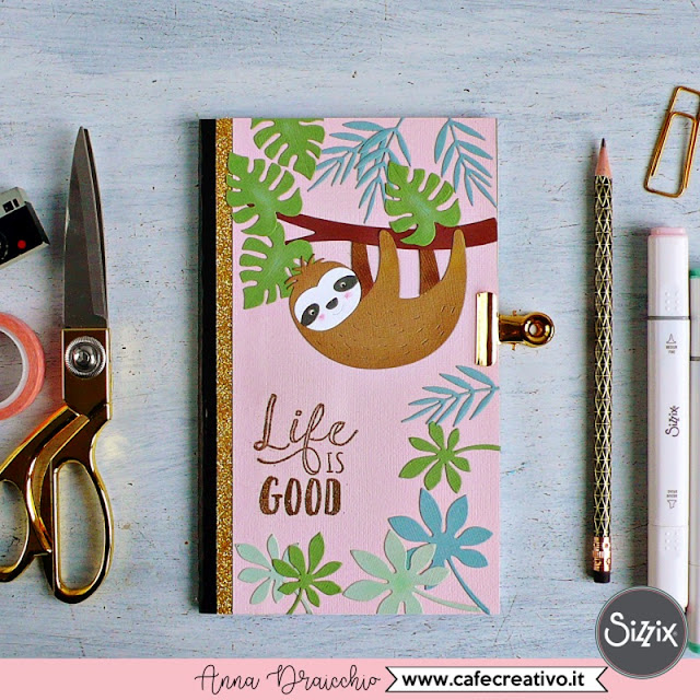 Come creare un quaderno personalizzato fai da te a tema tropicale