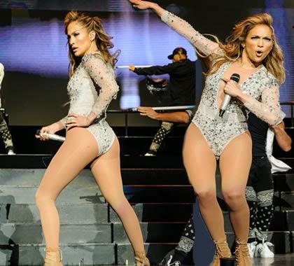 Vestido de Jennifer Lopez