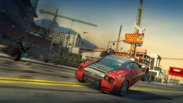 Burnout Paradise HD se registra en Japón