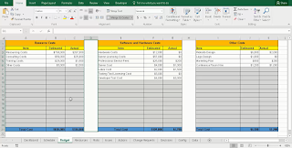 Project Budget Tracking