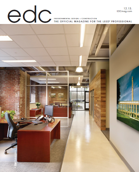 Environmental Design & Construction Magazine (December 2013 Issue)
