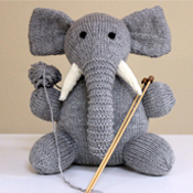 elephant knitting