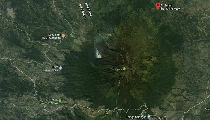 Lokasi Srambang Park, Ngawi