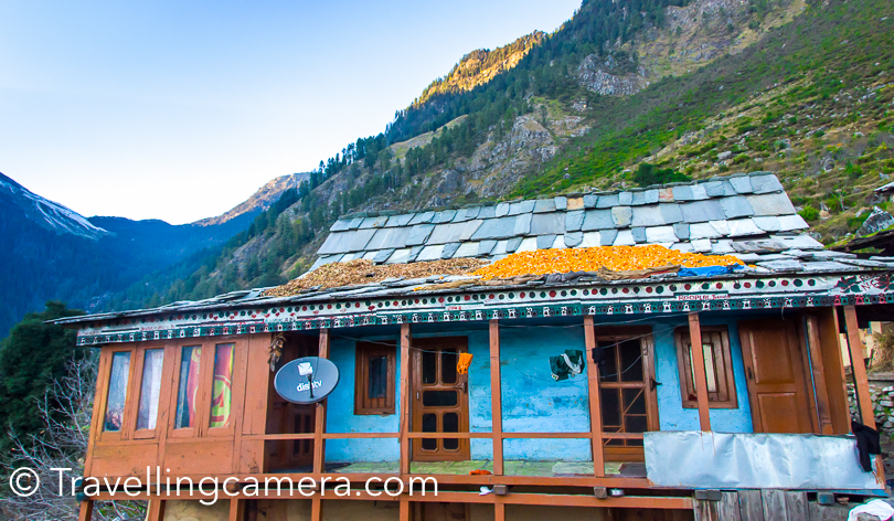 How to reach Sarahan (Kullu) - By Car – Reach Shimla from Delhi. Follow Kinnaur highway. Before Rampur, take a left cut over Satluj which takes you to Baghipul. From Baghipul, there is a steep climb till Sarahan village. 4*4 can comfortably go till the top By Bus – Take bus from Delhi to Shimla. Then try to find a local bus which connects Shimla with Baghipul. You can also choose to take any bus to Rampur and get down at the bridge which goes towards Left. Bus conductor would help you to find this place. It comes before Rampur town. So you would need some help. Either GPS or any passenger, if not bus conductor. From Baghipul, you need to hire a taxi. By Train – Train is only available till Shimla/Kalka. Beyond that follow the route mentioned above.