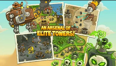 Kingdom Rush Frontiers Mod Unlimited Money