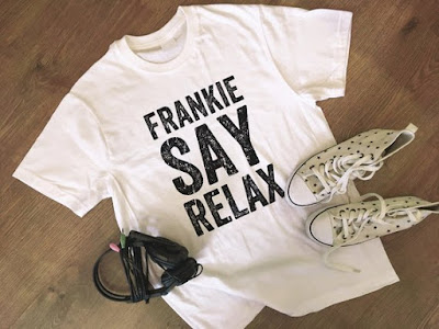 Frankie Say Relax T-shirt at Etsy