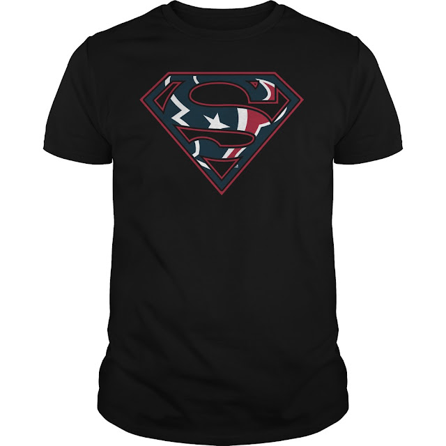 Houston Texans Superman Logo Shirt
