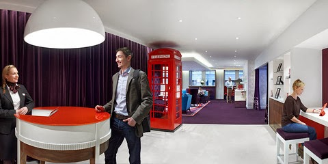 Salon Virgin Money de Londres