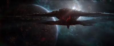 Thanos's Ship, thanos, avengers, Xandar, avengers endgame, marvel