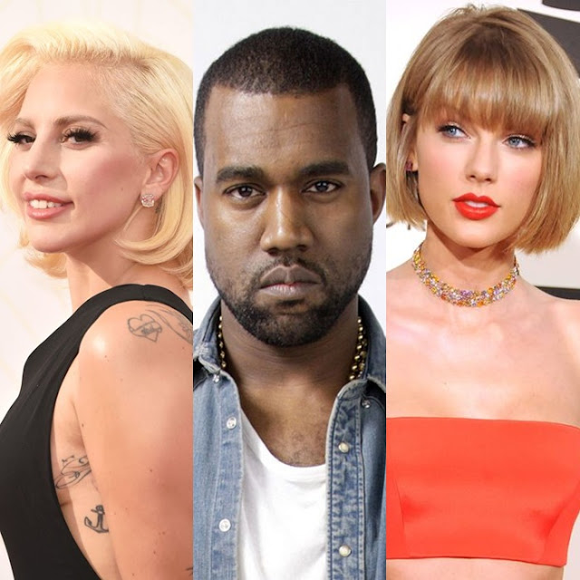 Lady Gaga canceló su tour junto a Kanye West debido al incidente con Taylor Swift.