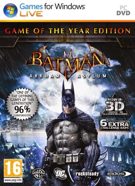 Batman: arkham asylum game of the year edition (2010.