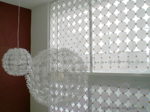 DIY Paper curtain – Persianas de papel