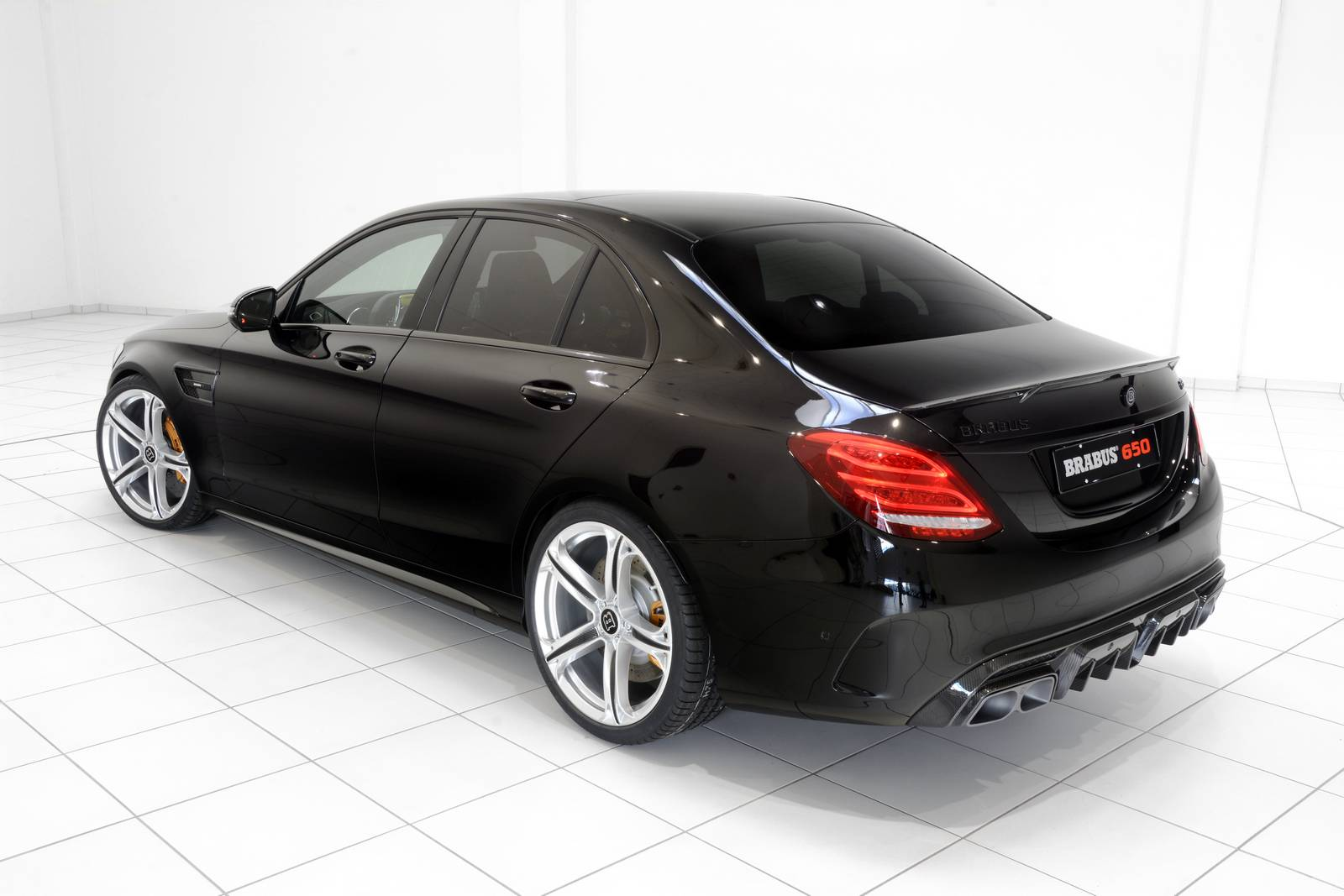 brabus 650 based on mercedes amg c63 w205 benztuning. Black Bedroom Furniture Sets. Home Design Ideas