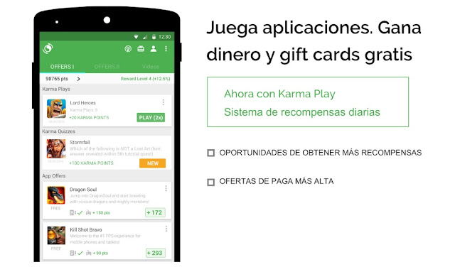 Ganar dinero con AppKarma