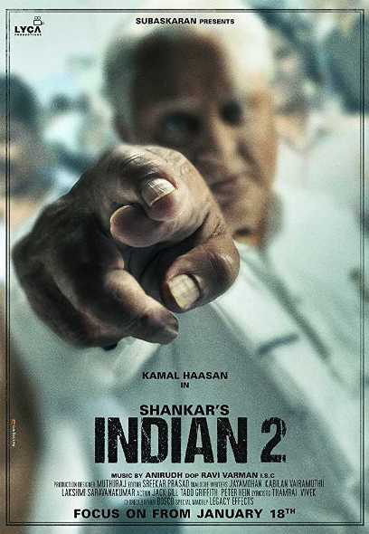 Indian 2 new upcoming movie first look, Poster of Kamal Haasan, Kajal next movie download first look Poster, release date