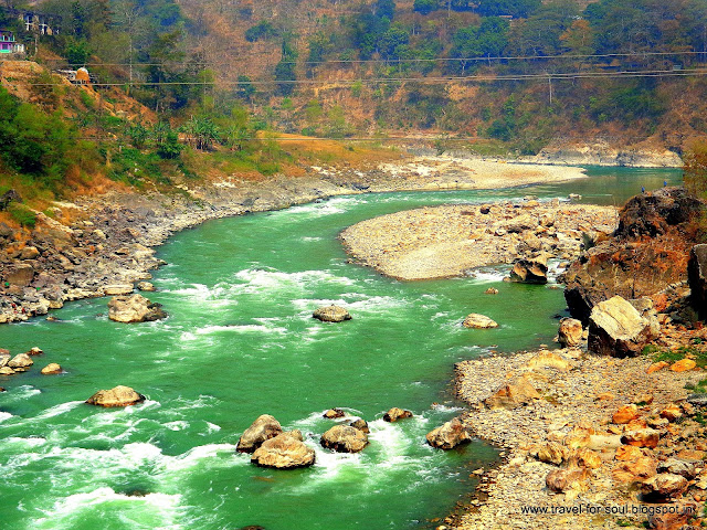 Beauty of Trishuli River