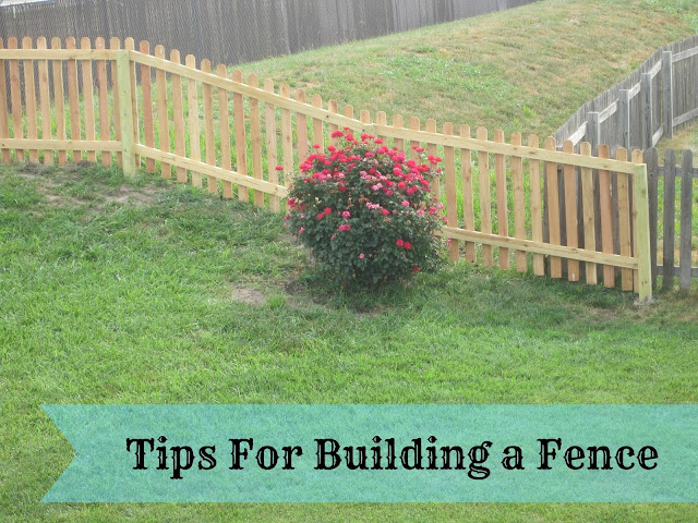 DIY Wood Fence