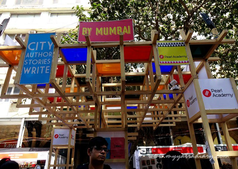 By Mumbai - Visual arts, Kala Ghoda Arts Fest, Rampart Row, Fort.