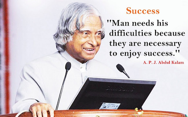A.P.J Abdul Kalam Success (Life) Story - Motivational Biography In Hindi