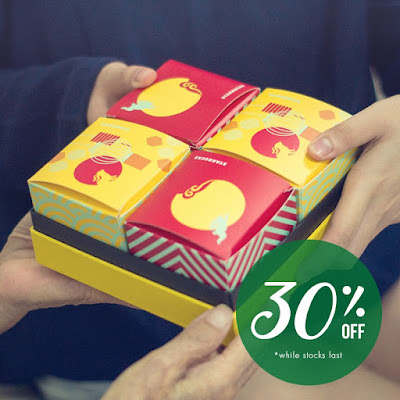 Starbucks Mooncakes Discount Offer