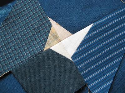 scrappy star for gwennie-inspired medallion quilt