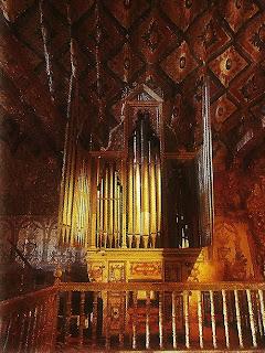 Órgão da Capela de Andahuaylillas