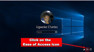 Windows Logon Screen keyboard