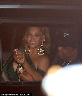 Beyonce and Jay Z seen leaving the TIDAL annual benefit concert in New York (photos)