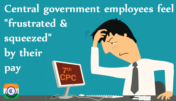7th CPC Central government employees
