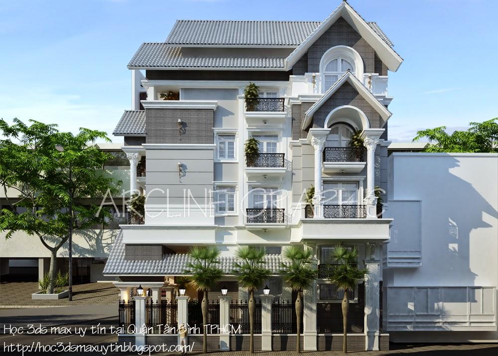 Chương trình 3d max dành cho dân kiến trúc tốt nhất tại Arcline