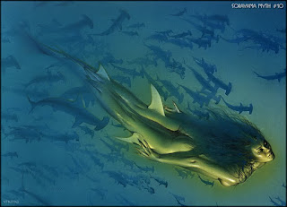 Sirenas Desnuda Cuadros