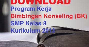 Download Program Kerja Bimbingan Konseling Bk Smp Kelas 8 Kurikulum 2013 Blognya Pabaiq