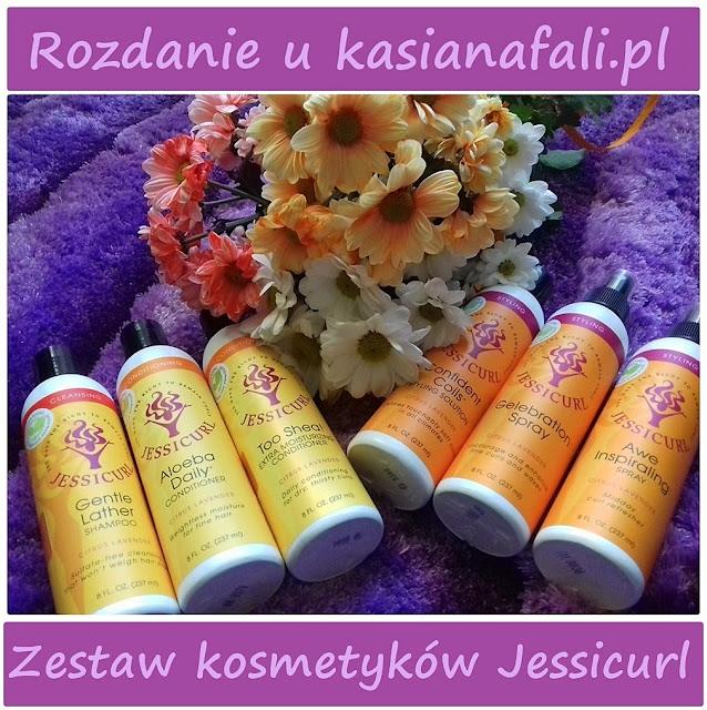 Rozdanie u kasianafali.pl - kosmetyki do włosów falowanych i kręconych Jessicurl