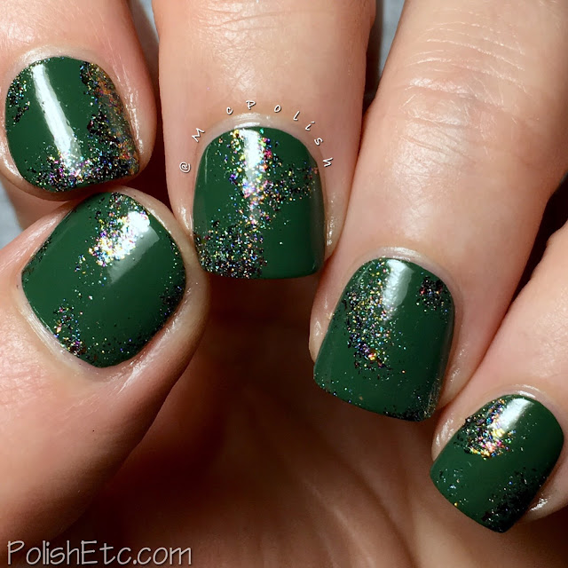 Green Nails for the #31DC2018Weekly - McPolish