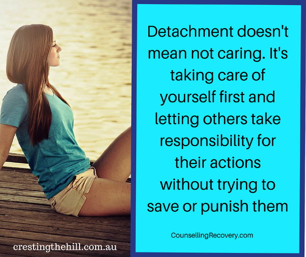 Happiness Choice #7 - Don't get embroiled in other people's drama - practice detachment