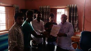 abvp-meet-vc-darbhanga